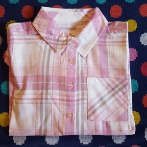 Girls 10 or 12 Justice long sleeve buttondown